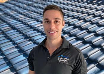 Tony Rowan from Superior Roofing & Maintenance - Tiled Roof Restoration