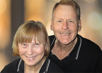 Tony and Mary-Anne Johnstone from Tony's Window Cleaning