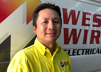 Wes from Western Wiring Electrical Contractor