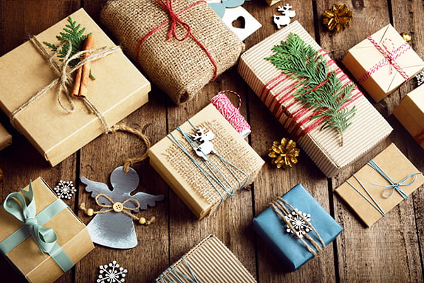 How to ditch the Christmas wrapping paper