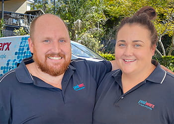 Cory and Karlee from Poolwerx Spearwood - Pool Cleaning, Pumps & Supplies