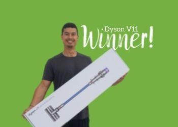 Dyson V11 competition prize