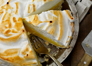 Mrs Oliver's Home-made Lemon Meringue Pie