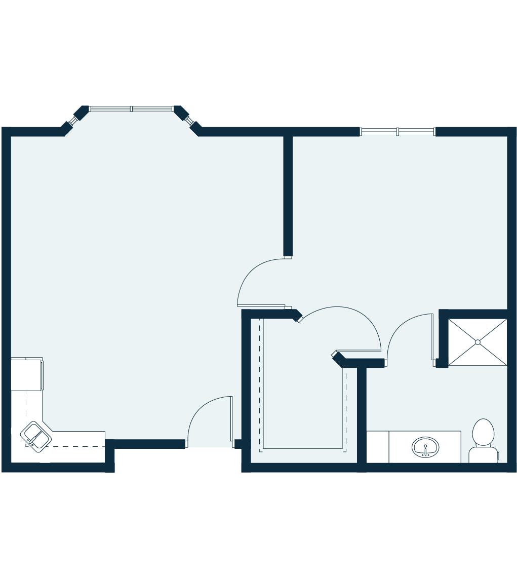 Spring Cove - Large floor plan