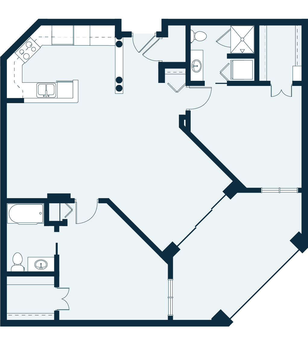 forsythia floor plan