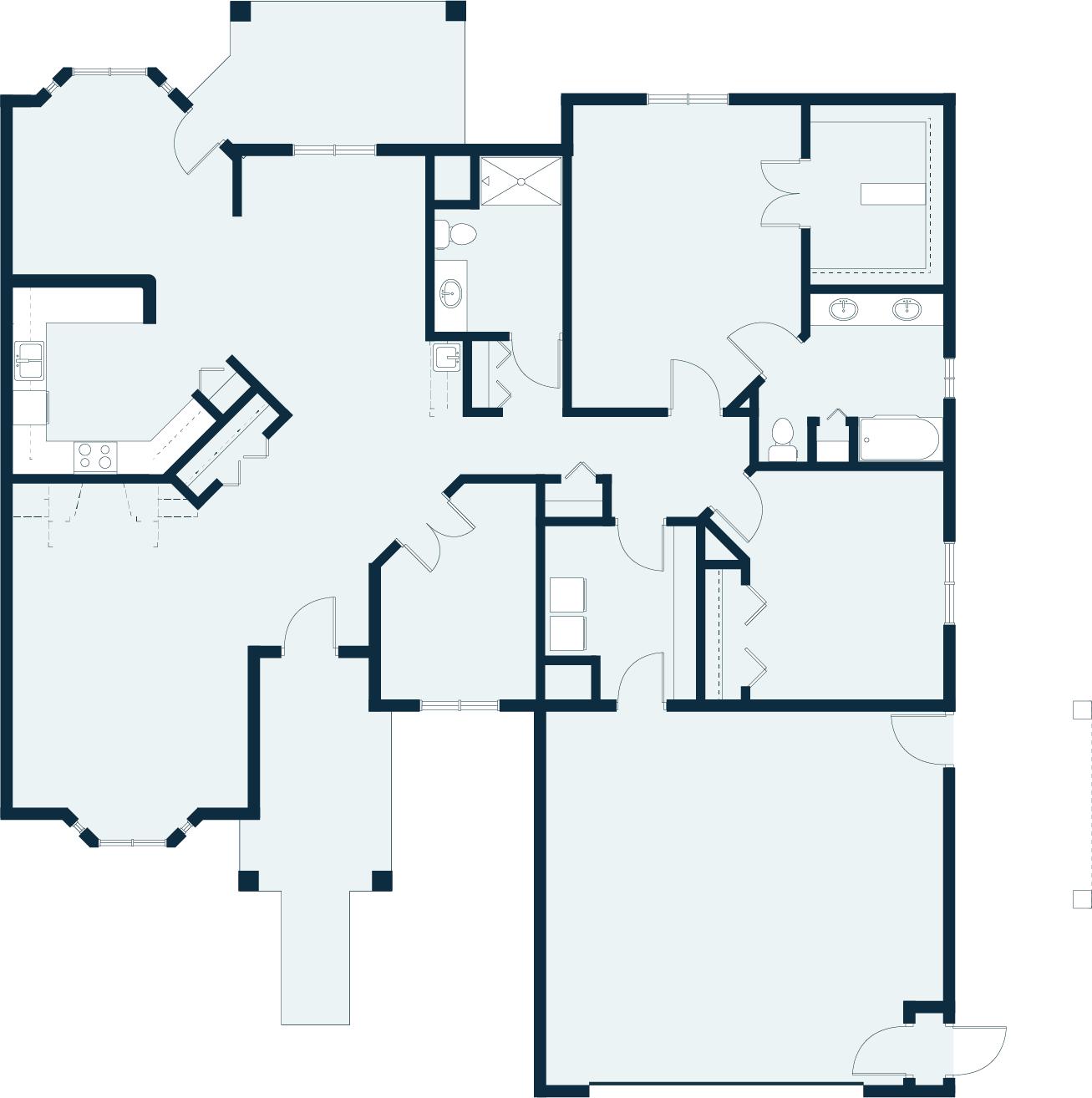 Nightshade floor plan