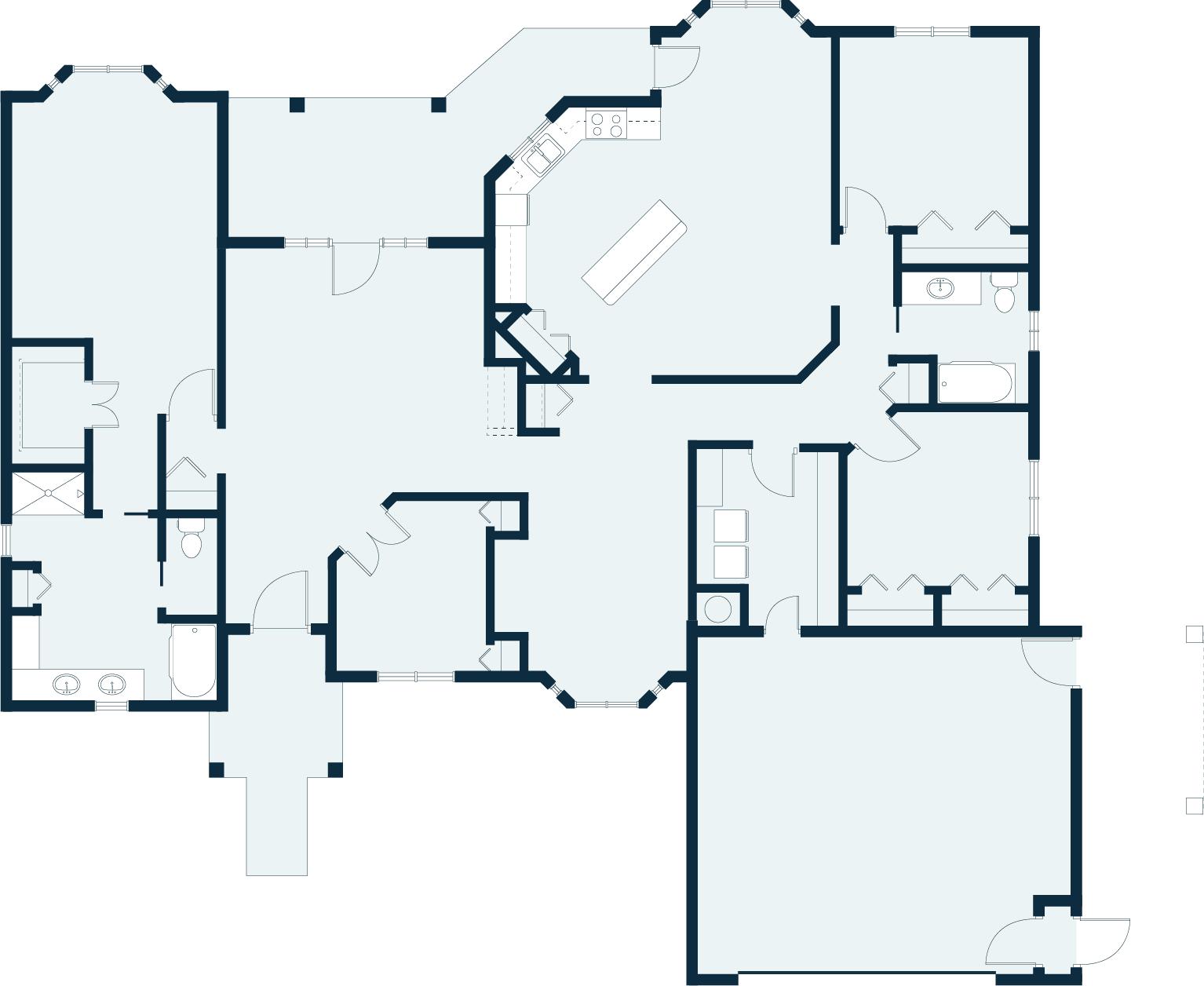 Periwinkle floor plan