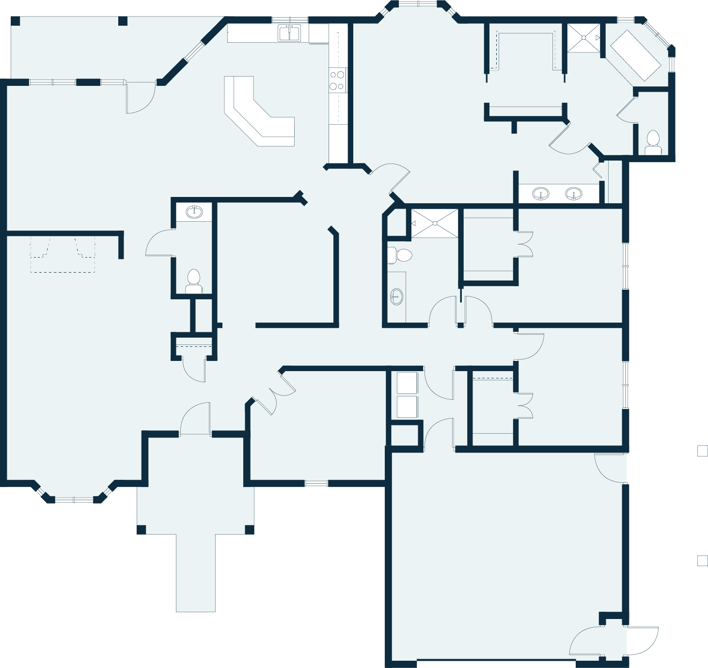 Rose floor plan