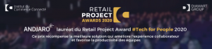 Andjaro lauréat du Retail Project Award #TechForPeople 2020