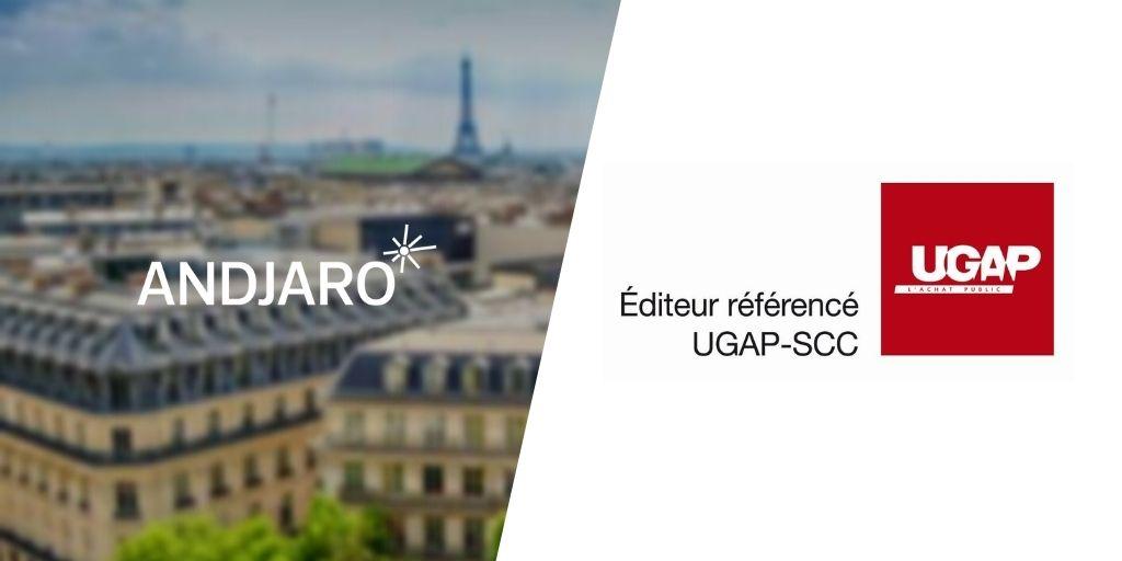 Andjaro est éditeur référencé dans le marché multi-éditeurs SCC-UGAP !
