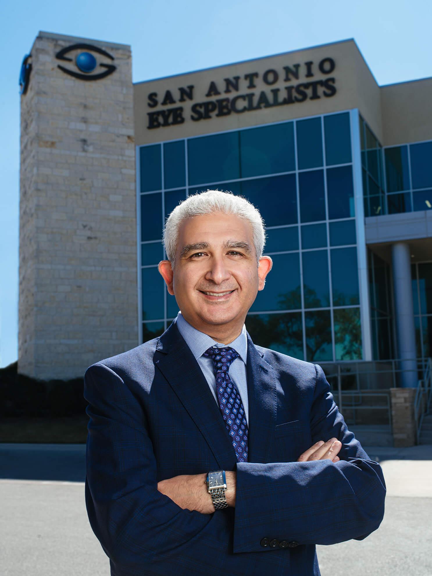 Smiling Dr. Iskander