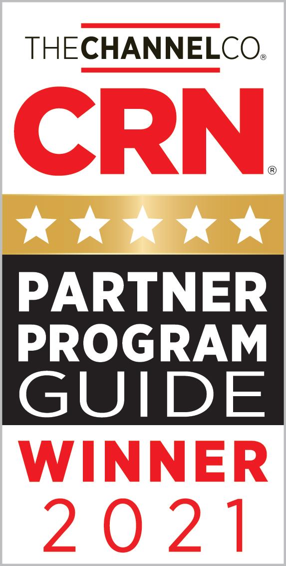 Gráfico do vencedor do prêmio do Programa de Parceiros CRN da The Channel Company