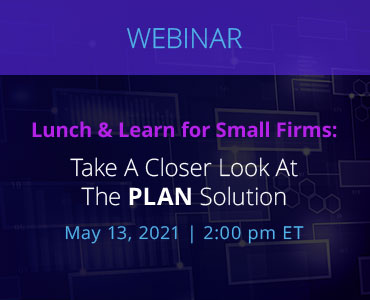 Lunch and Learn event with NetDocuments on May 13th, 2021 at 2pm Eastern Time and 12pm Mountain time.