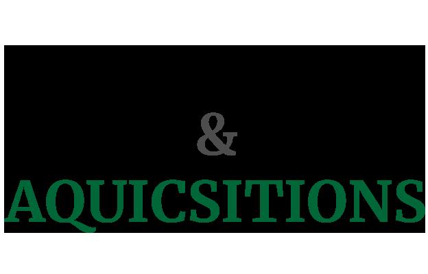 Logotipo da empresa de fusões e aquisições