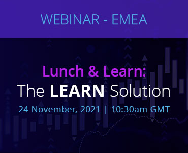 Graphic for webinar event hosted by NetDocuments discussing the LEARN solution