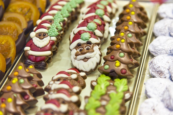 Belgian Christmas Chocolates