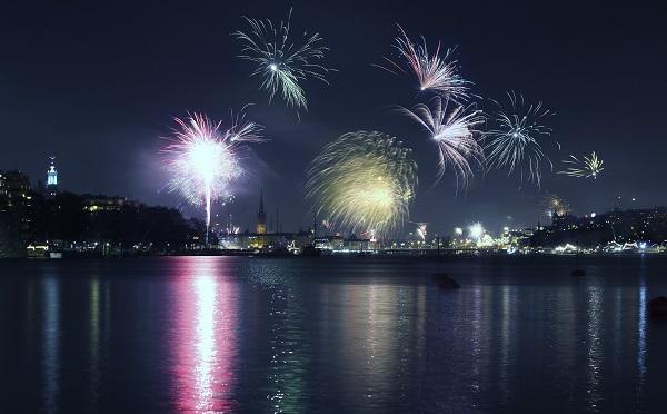Stockholm Fireworks