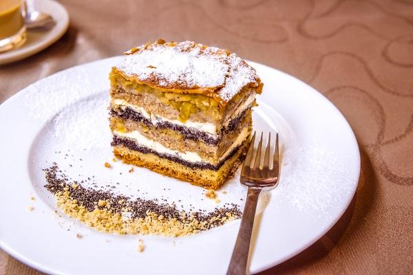 Gibanica Layered Cake