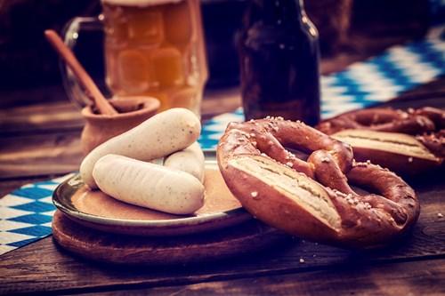 Sausage and Pretzel