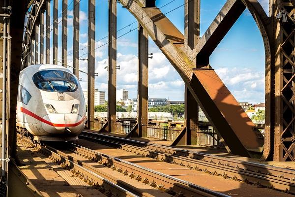 High-Speed ICE Train Germany