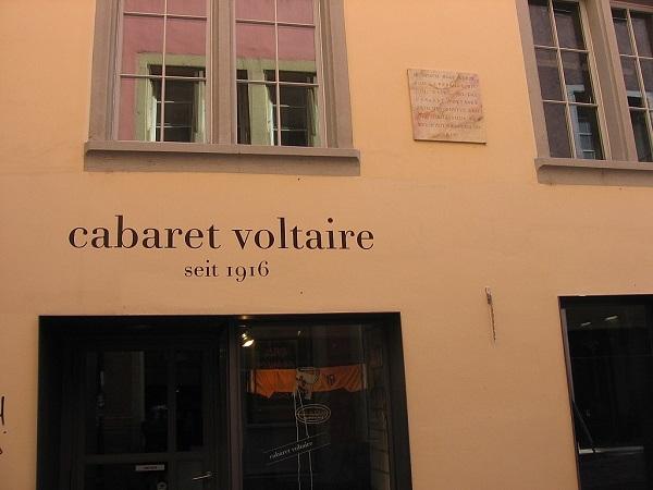 Cabaret Voltaire Zurich