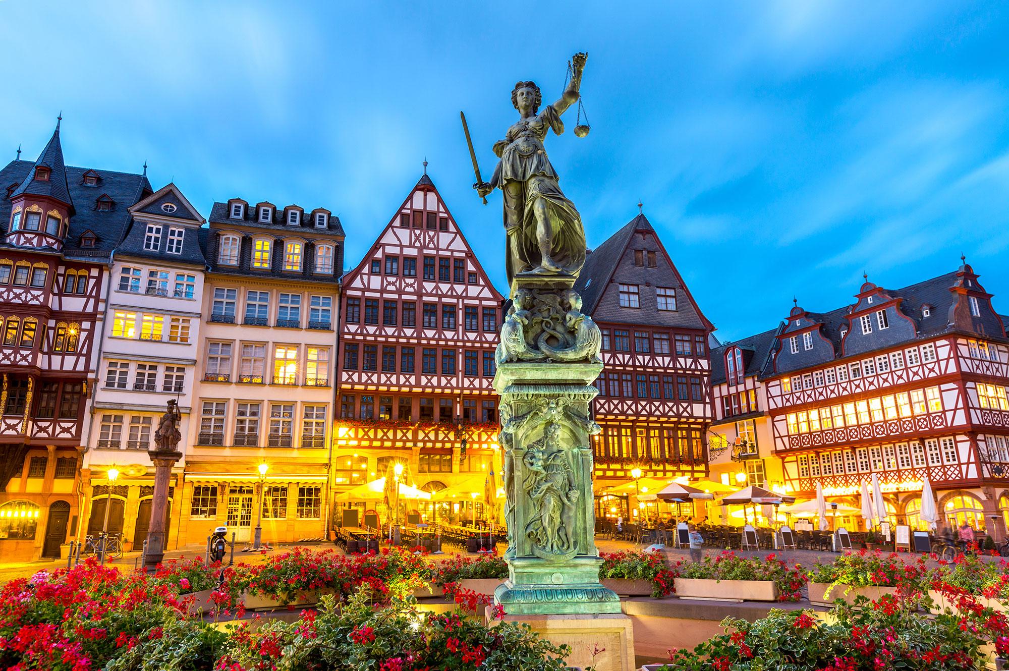 Frankfurt and Aachen