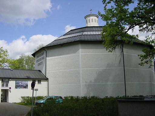 Altötting Panorama Gebäude