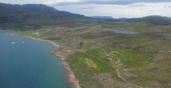 Farm In Qassiarsuk Greenland