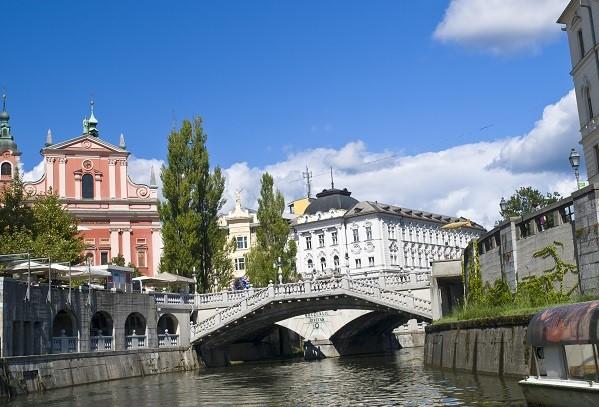 Three Bridges Ljubljana