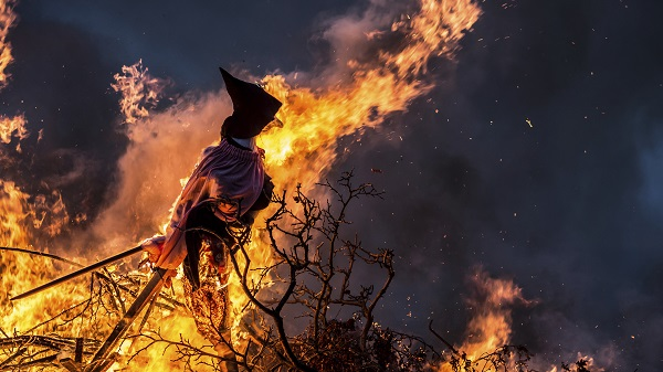 Witch On A Bonfire