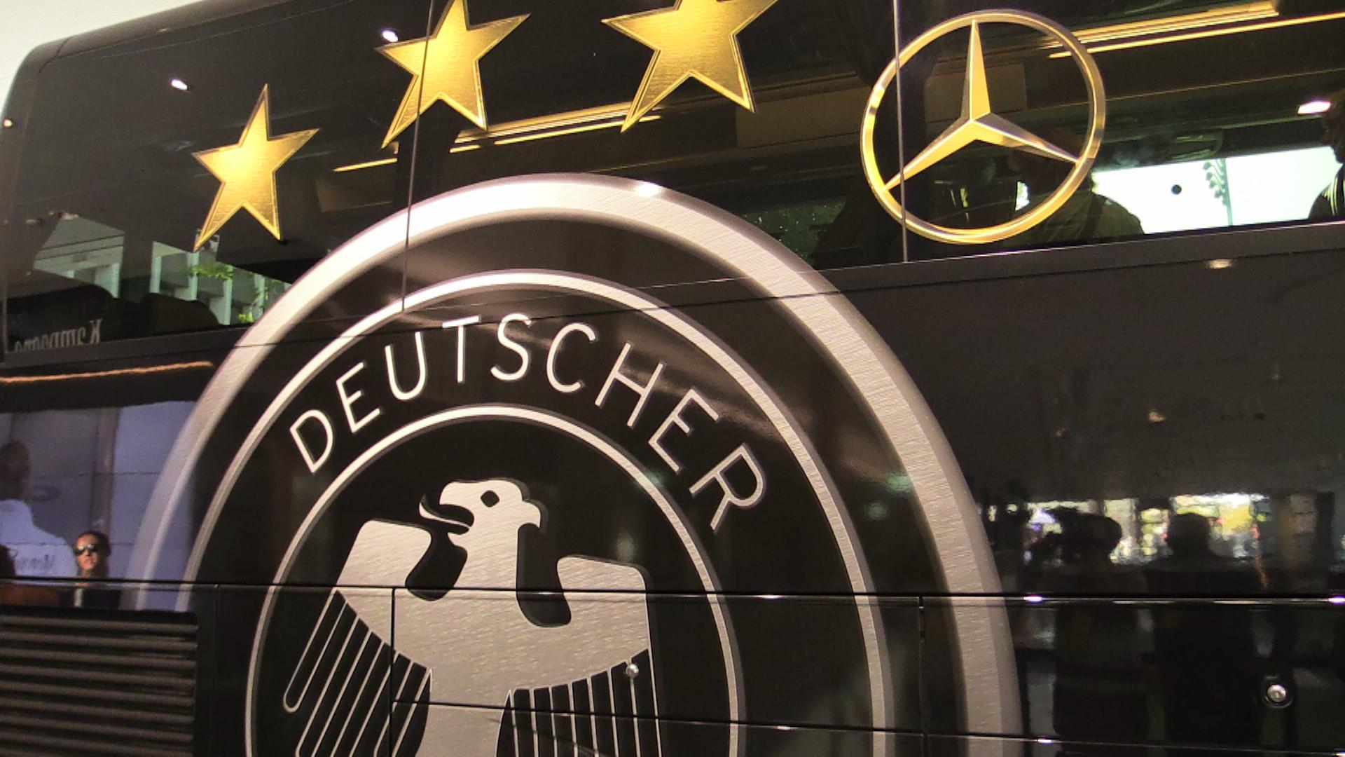 Germany Football Team Bus