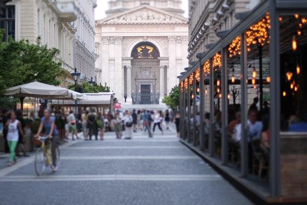 Budapest Restaurant Street