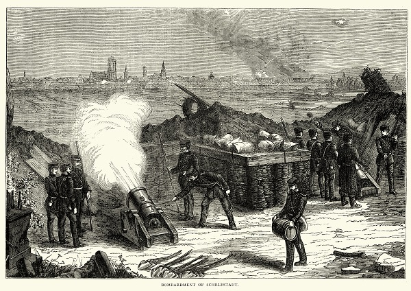 Bombardment of Selestat Alsace