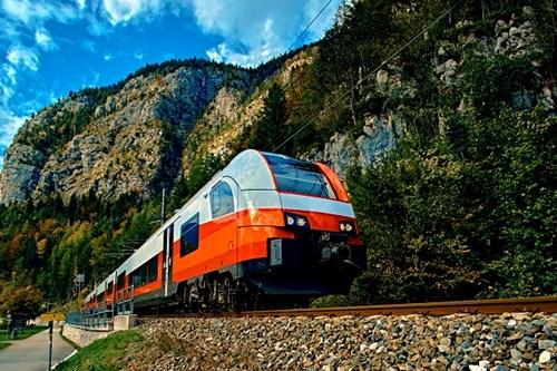 Austrian Alps Train