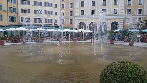 Fountains At Hotel Colosseo Europa Park