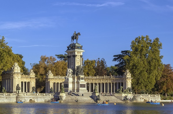 Alfonso XIII Monument Madrid