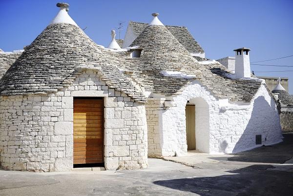Trulli Houses In Alberobello Italy