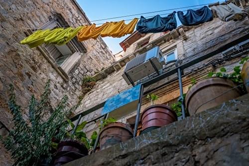 Dubrovnik Washing Line