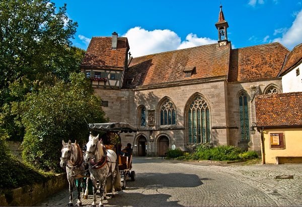 Horse and Cart in Rothenberg