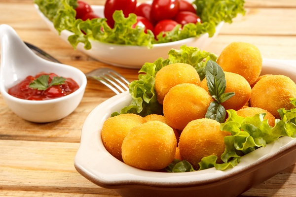 Fried Cheese Balls