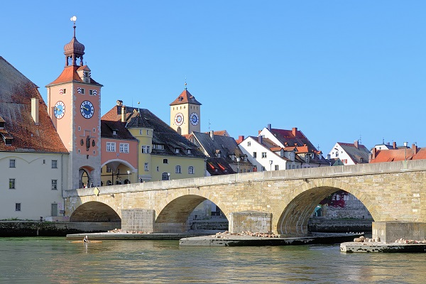 Stone bridge Regensburg