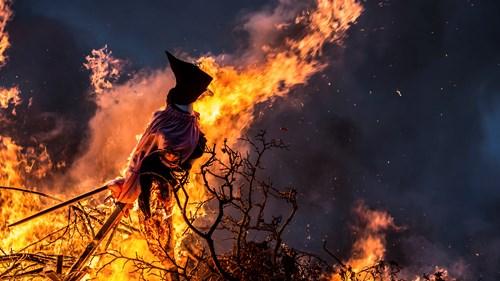 Bonfire Witch