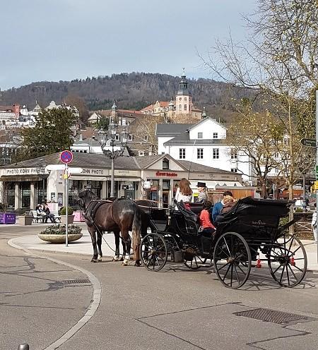 Baden-Baden Horse and Carriage