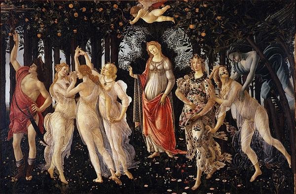 Primavera By Botticelli