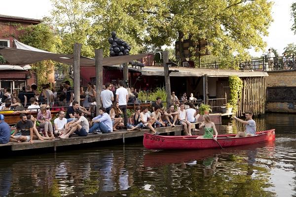 Canoeing Berlin