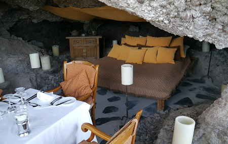 A cave for two