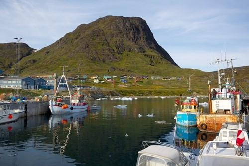 Arctic Fishing Village