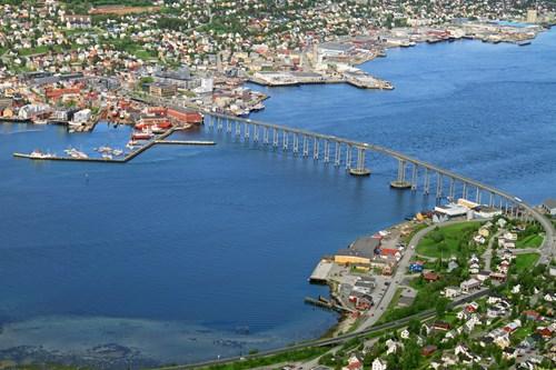 Bridge In Tromso