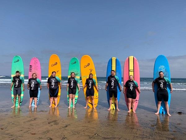 Surfing Gran Canaria