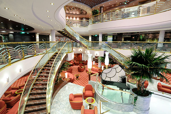 MSC Magnifica staircase